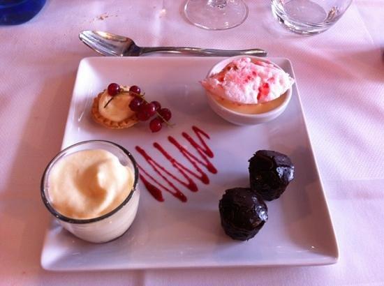 buldo : dessert gourmand