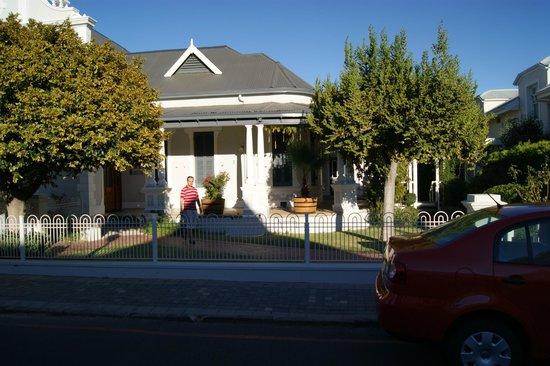 Caledon Villa front side