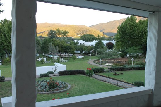 De Opstal Country Lodge: View from our room