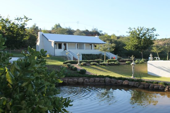 De Opstal Country Lodge: View of our cottage