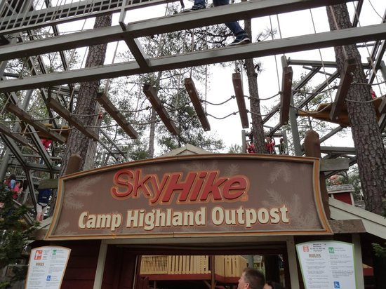 Stone Mountain Park: High Ropes Course for teens