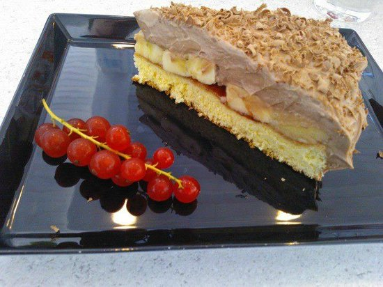 Seecafe: Nutella Bananen Torte