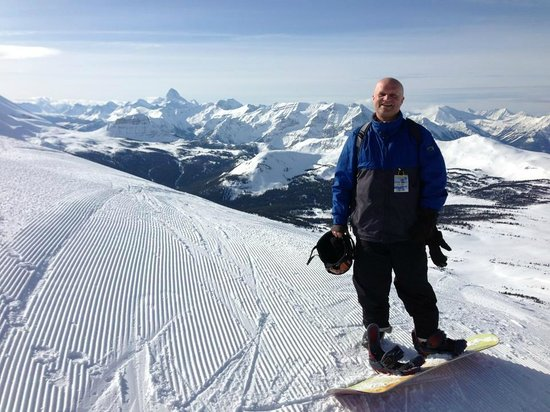 Sunshine Mountain Lodge : At the top of the Great Divide lift