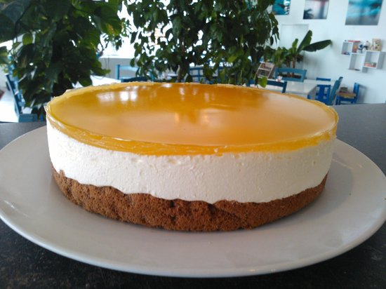 Seecafe: Mango Topfen Torte