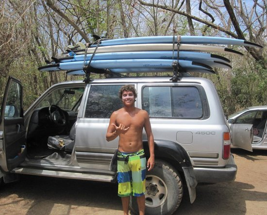 Point Break Surf School: Angelo, our awesome instructor