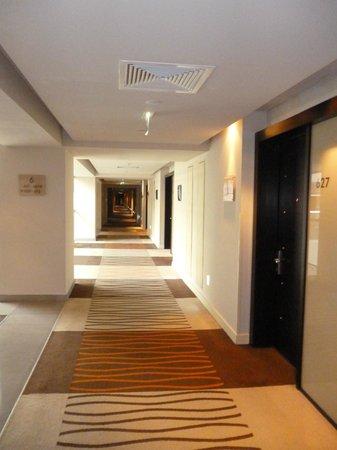 Radisson Blu Hotel Bucharest: corridors