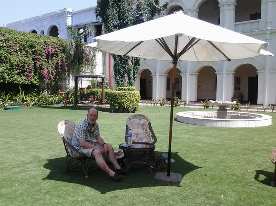 The Grand Imperial, Agra: Lovely gardens