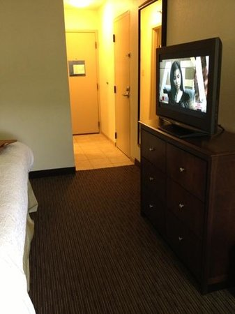 Hampton Inn Knoxville Airport: small hallway but lead to a nice room