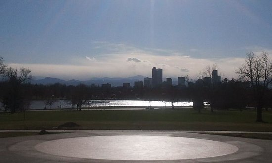 City Park - Denver: Great view from the Denver Museum of Nature and Science