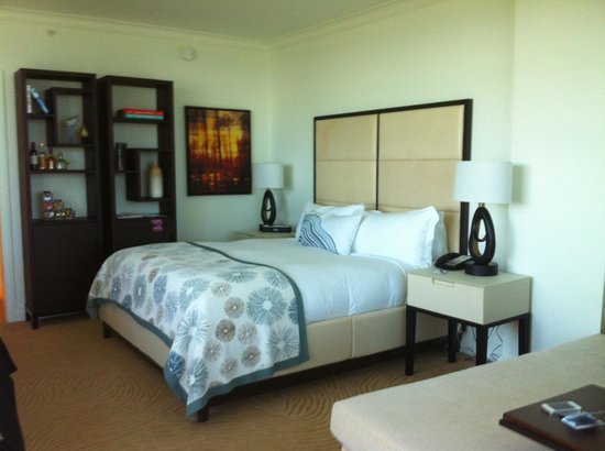 The Ritz-Carlton, South Beach: Vue d'une chambre d'angle