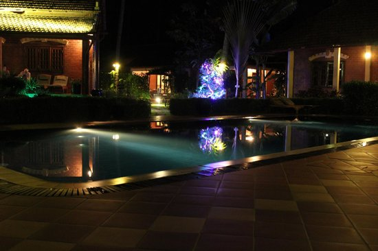 Cassia Cottage - The Spice House: Pool area around Tet New Year time