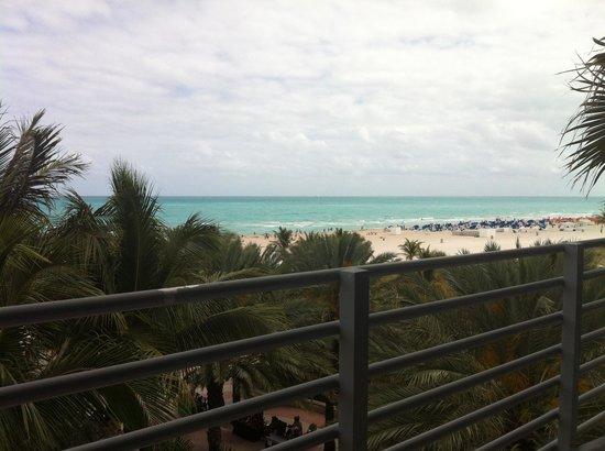 The Ritz-Carlton, South Beach: Vue depuis le balcon
