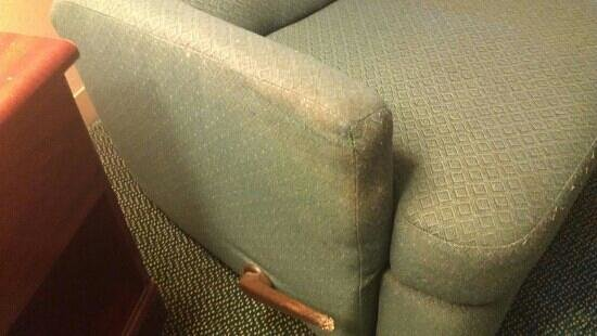 Extended Stay America - Springfield - South: Absolutely disgusting chair arms