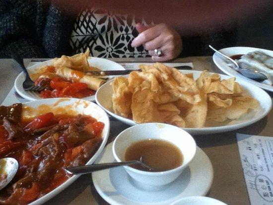 May Garden: the deep friend shrimp dumplings are my fave!