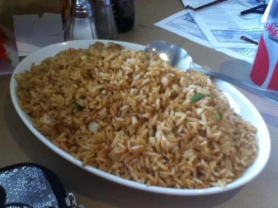 May Garden: delicious mushroom fried rice