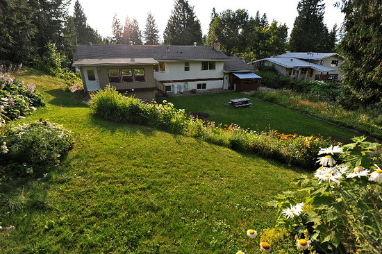 Revelstoke Bed and Breakfast: Summer sunshine!