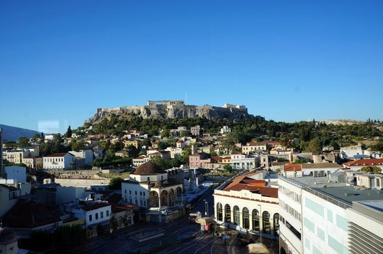 A for Athens: View from Rooftop Bar
