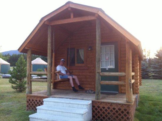 North American RV Park & Yurt Village: Cozy Cabins