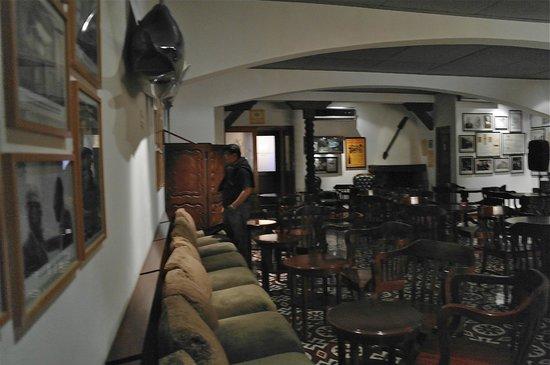 La Hacienda Bahia Paracas: salon de descanso