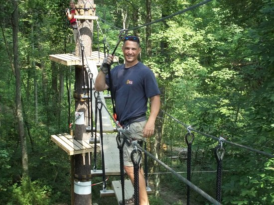 Hocking Peaks Adventure Park: Aerial Challenge Zip Line