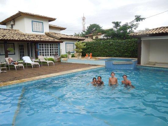 Pousada Aquarium: piscina