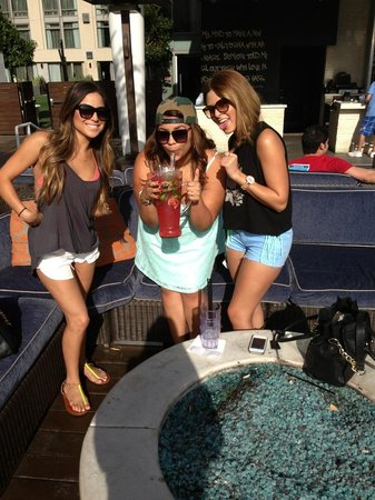 Rooftop pool! Pitchers $70