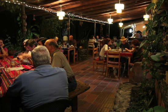 Madre Tierra Resort & Spa: Dinner time