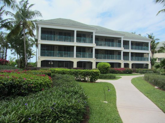 Sands at Grace Bay: One of the buildings.