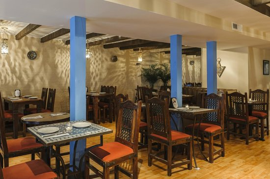 Dining room at Zerza