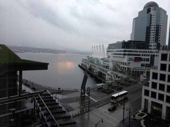 Fairmont Pacific Rim: View from room 813