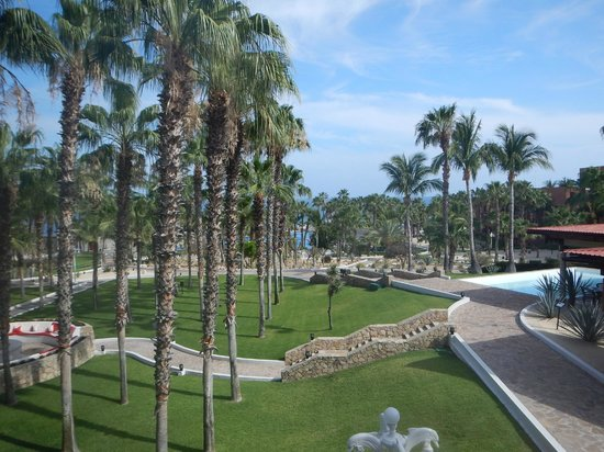 Melia Cabo Real All-Inclusive Beach & Golf Resort: View from the lobby