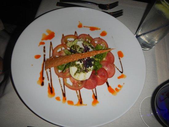 Melia Cabo Real All-Inclusive Beach & Golf Resort: Tomato salad in La Terraza