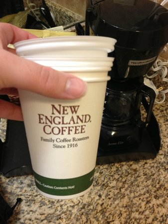 Inn on the Square: Coffee Cups