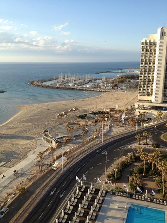 Sheraton Tel Aviv Hotel: the view from the 12th floor