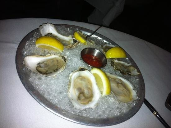 Umbria: oysters