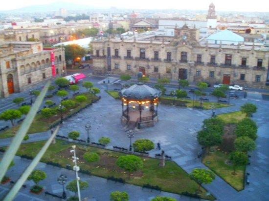 One Guadalajara Centro Històrico: Vista desde la terraza superior