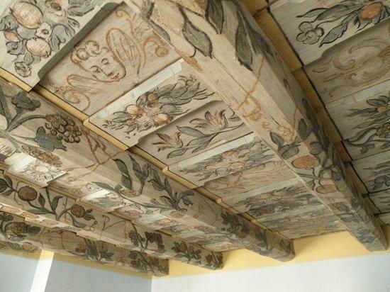 Prague Golden Age : detalle de techo habitación (205)