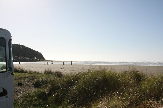 Pacific Beach State Park: Park nearly on the beach (2)