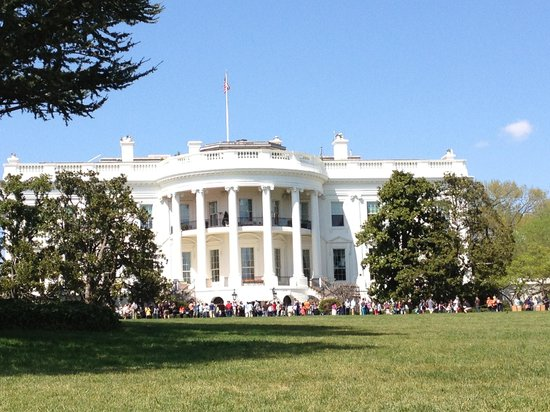 Front view if white house - Picture of White House ...