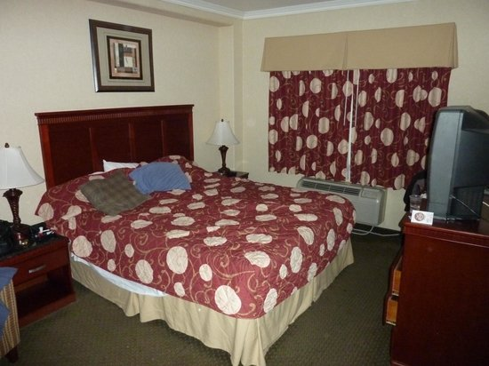 Knights Inn and Suites Bakersfield : Room with King bed