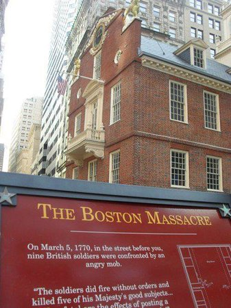 ‪Boston Massacre Site‬
