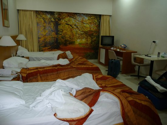 Rio Aeroporto Hotel: habitaición triple