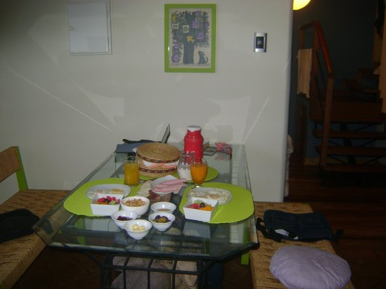 Quinua Villa Boutique: desayuno