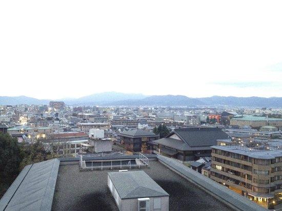 The Westin Miyako Kyoto: バルコニーも広め