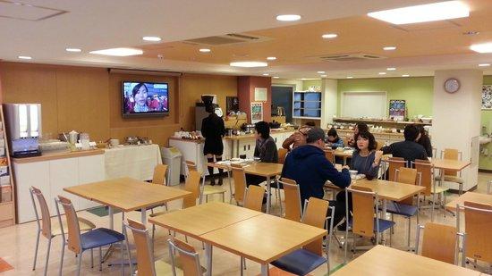 Chisun Inn Osaka Hommachi: Breakfast area