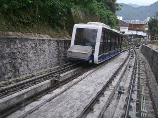 George Town, Malaysia: Thrilling ride up Penang Hill