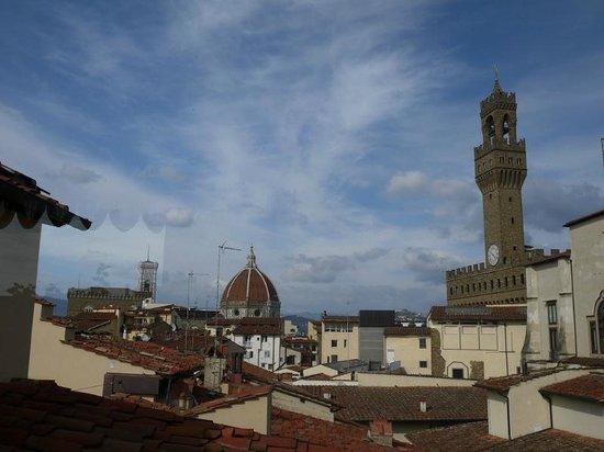 Hotel Degli Orafi: 最上階バーからの眺め