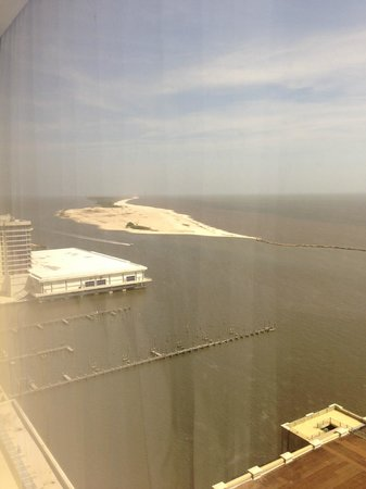 Beau Rivage Resort & Casino Biloxi: View from Room 19059