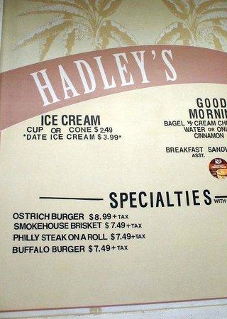 Hadleys date shake... yum!! Cabazon, CA | Travels | Pinterest