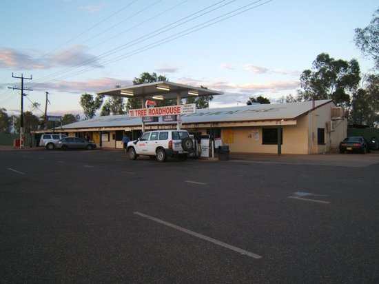 Northern Territory, Avustralya: Ti-Tree Roadhouse
